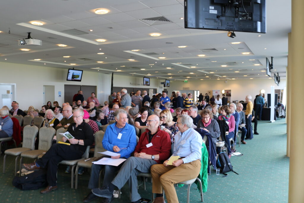 Photo looking out over the audience of the 2019 Networking Day